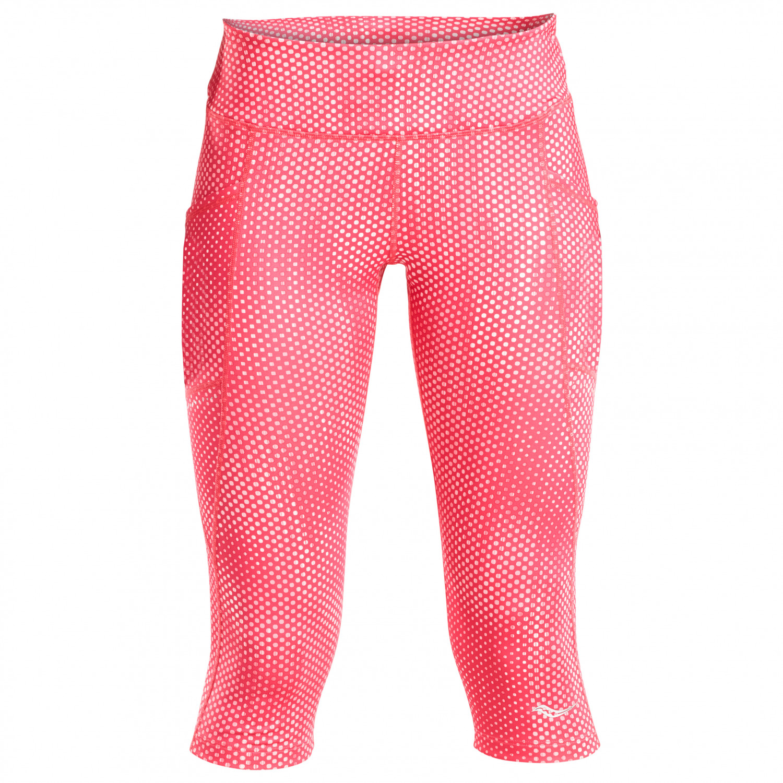 c1e0c9a32a Saucony - Women's Bullet Capri 2.0 - Running jacket - Hibiscus Print | XS
