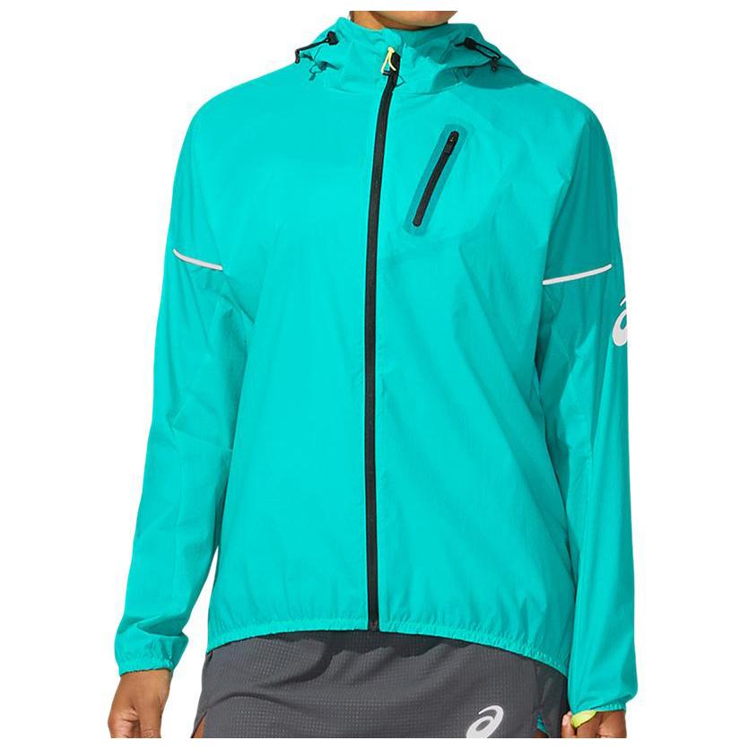 Asics - Women's Fujitrail Jacket - Running jacket - Baltic Jewel | XS
