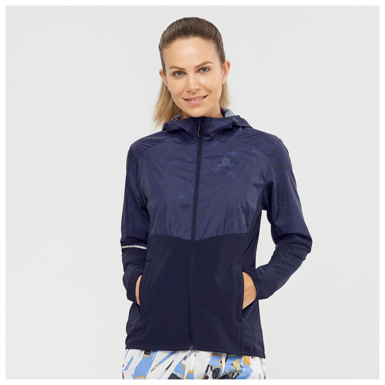 Polyester Salomon Womens Agile Windbreaker Jacket