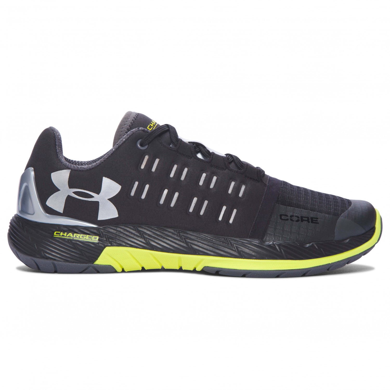 the best attitude dcf9e 6656d Under Armour - Women's UA Charged Core - Fitness shoes - Black / Smash  Yellow | 6 (US)