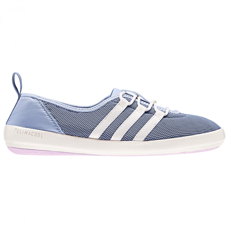 adidas - Women's Terrex CC Boat Sleek - Wassersportschuhe Chalk Blue S18 / Chalk White / Aero Pink S18