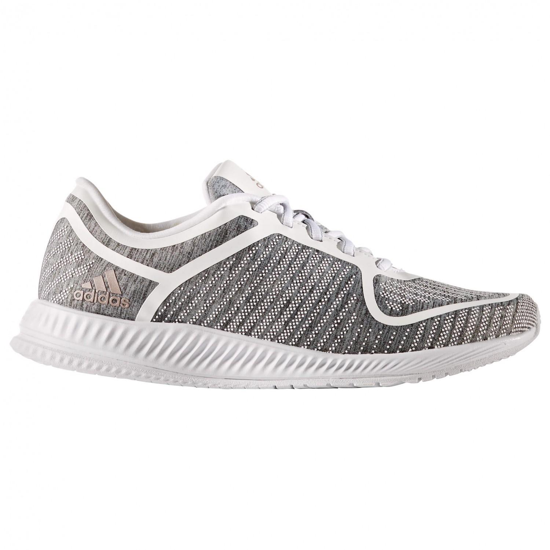 adidas - Women's Athletics Bounce - Fitnessschuh Light Grey Heather / Vap Grey MetF16 / FTWR White
