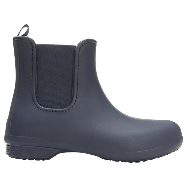 Crocs Women's Crocs Freesail Chelsea Boot Gummistövlar Black Black | W10 (US)