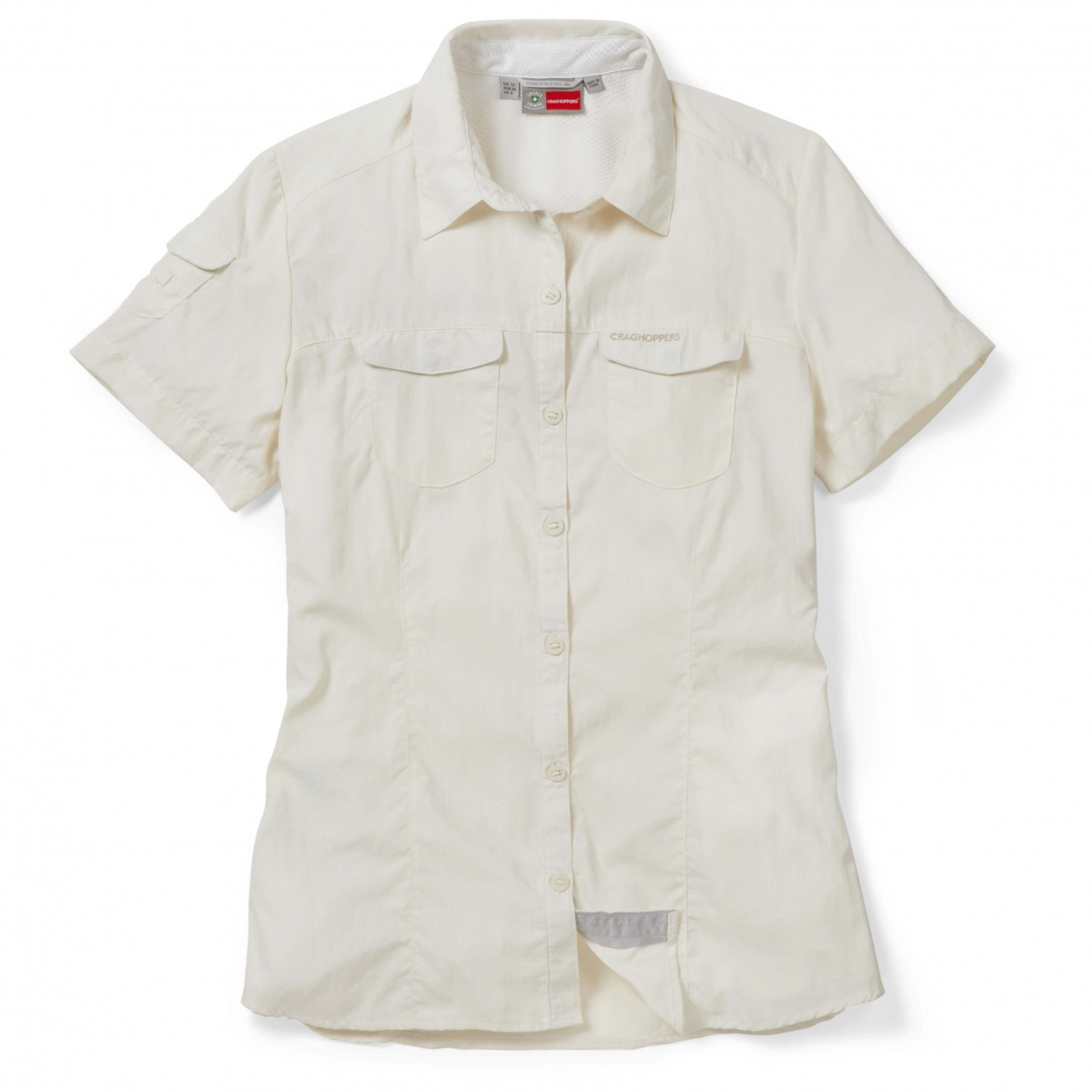 Craghoppers Short Adventure Sleeved Women'sBuy Nosilife Shirt YW9eH2IED