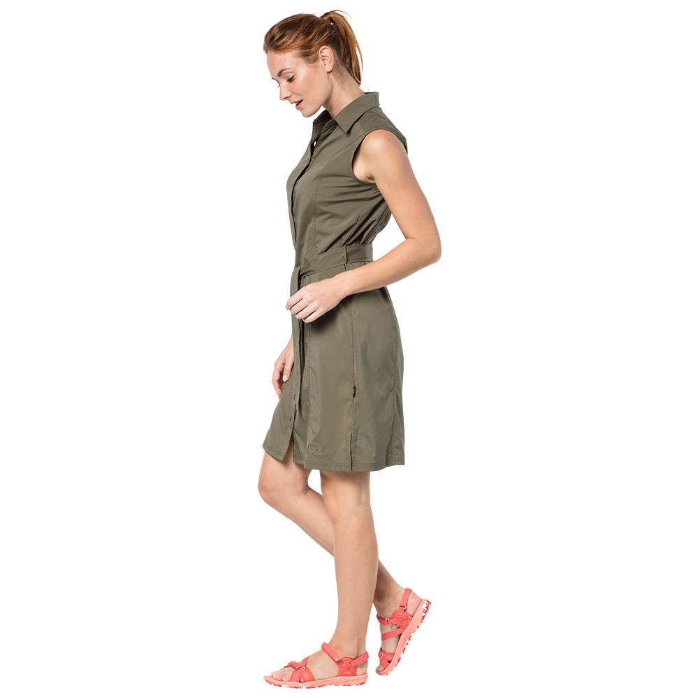 Jack Wolfskin Women's Sonora Dress Kleid Burnt Olive | XS