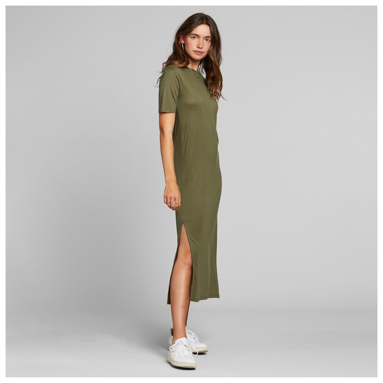 Damen Shirt-Kleid 245295 in Lodengrün 36//38