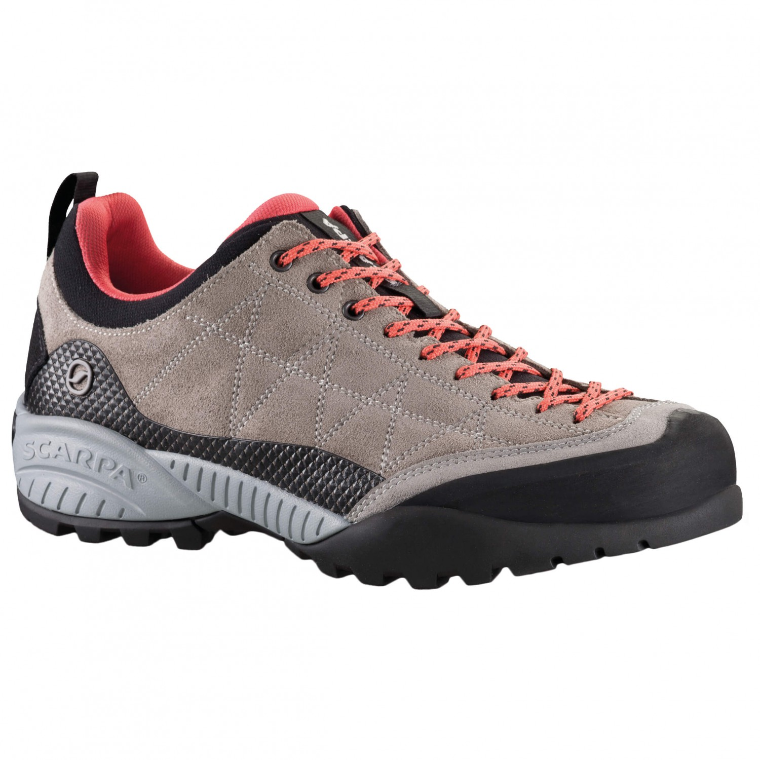 Scarpa - Women's Zen Pro - Approachschuhe Taupe / Coral Red
