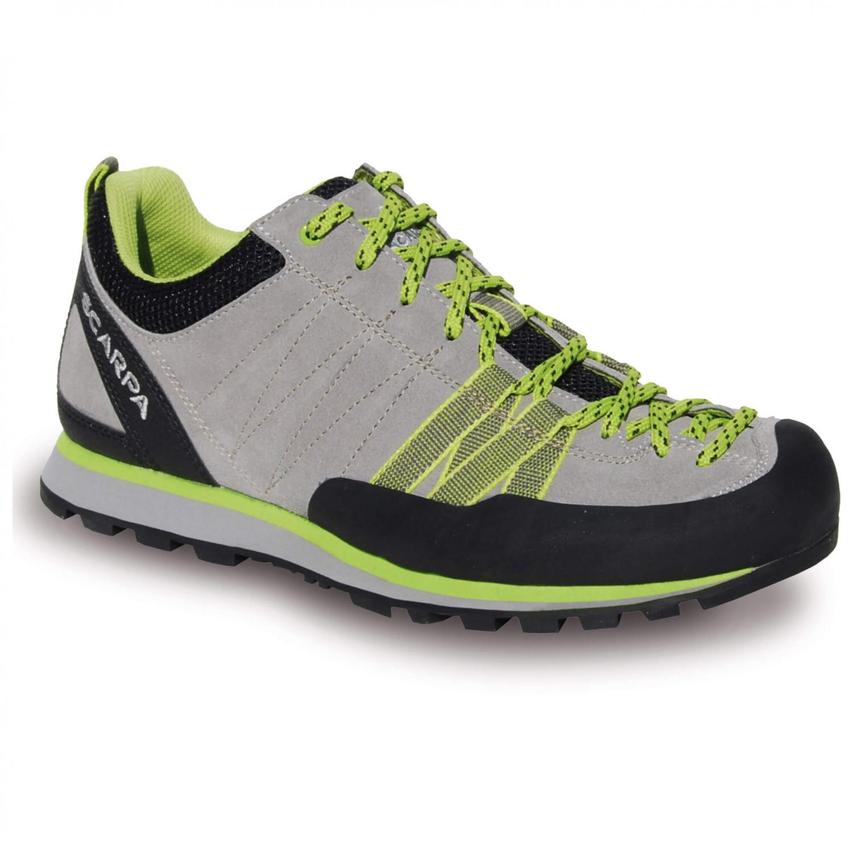 Scarpa Women's Crux Chaussures d'approche Oyster Green Glow | 36 (EU)