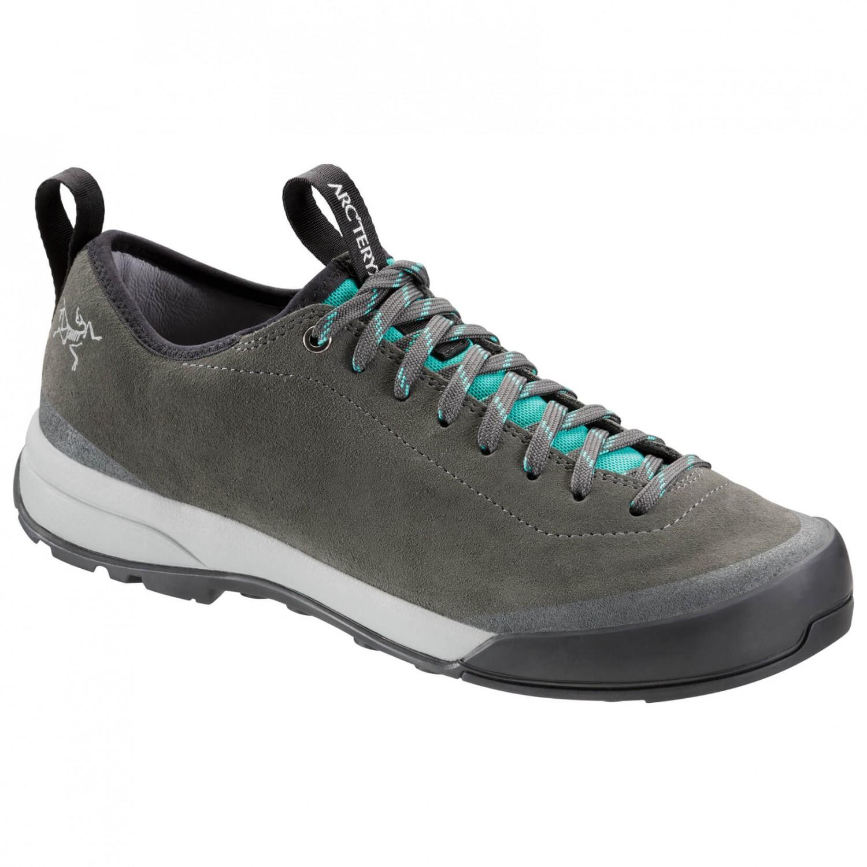 Arc'teryx Acrux SL Leather Approach Shoe Women's Approachschuhe Titan Bora Bora   3,5 (UK)