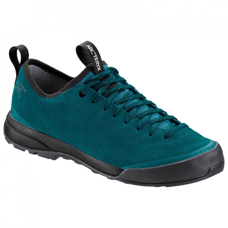 Arc'teryx - Acrux SL Leather Approach Shoe Women's Deep Lagoon / Enamel Blue