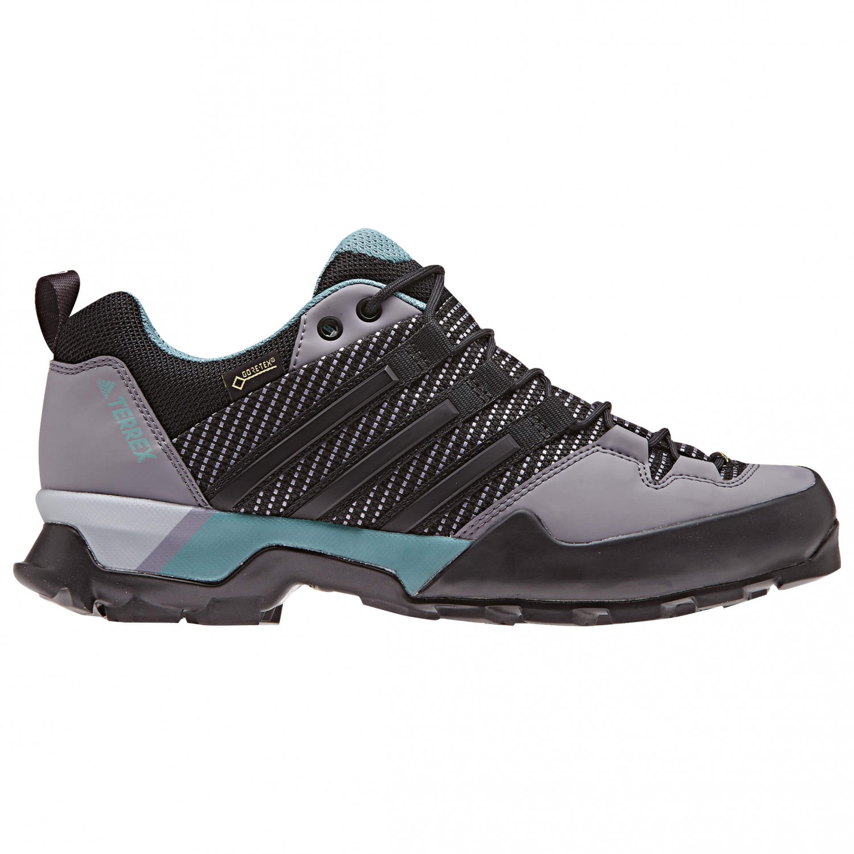 adidas - Women's Terrex Scope GTX - Approachschuhe Carbon S18 / Core Black / Ash Green S18