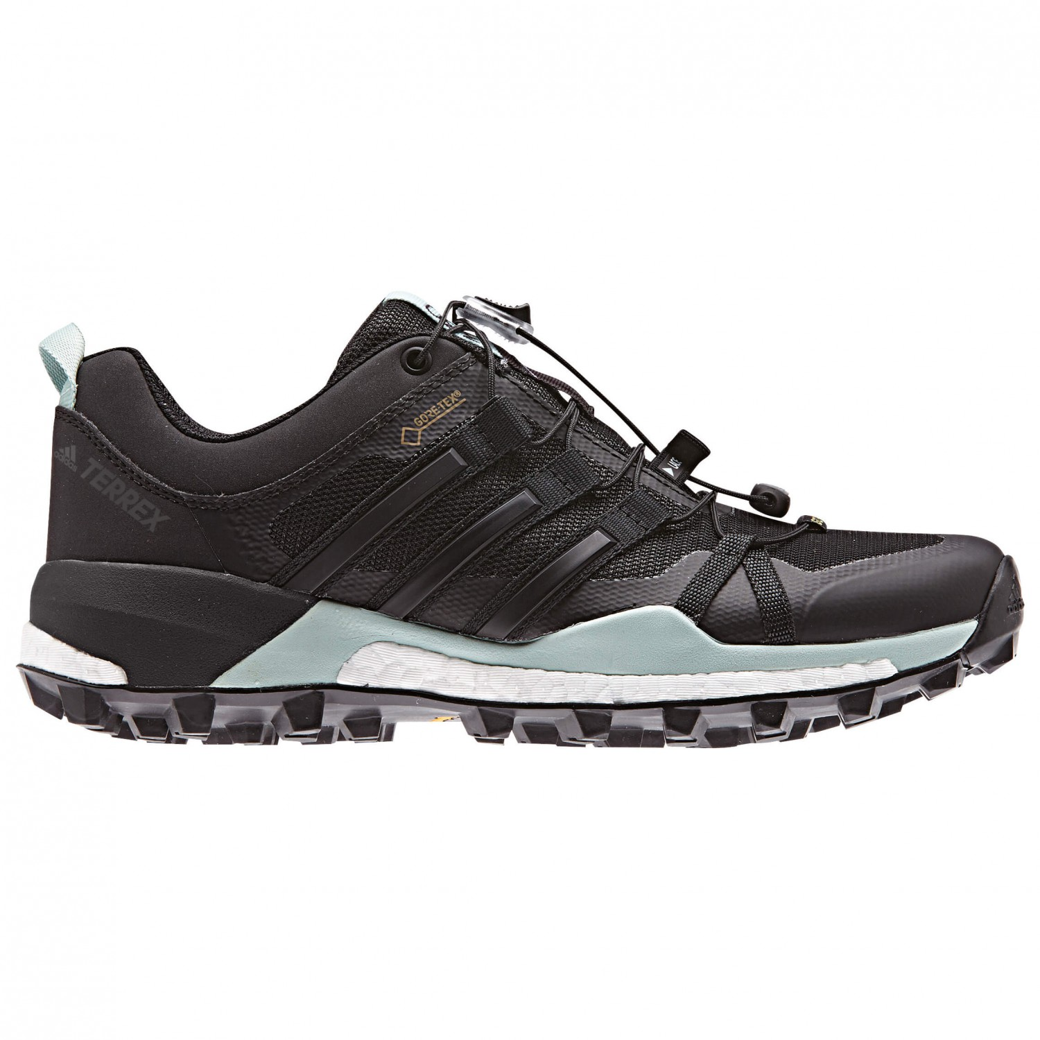 adidas - Women's Terrex Skychaser GTX - Approach shoes - Core Black / Core  Black / Ash Green S18 | 5 (UK)