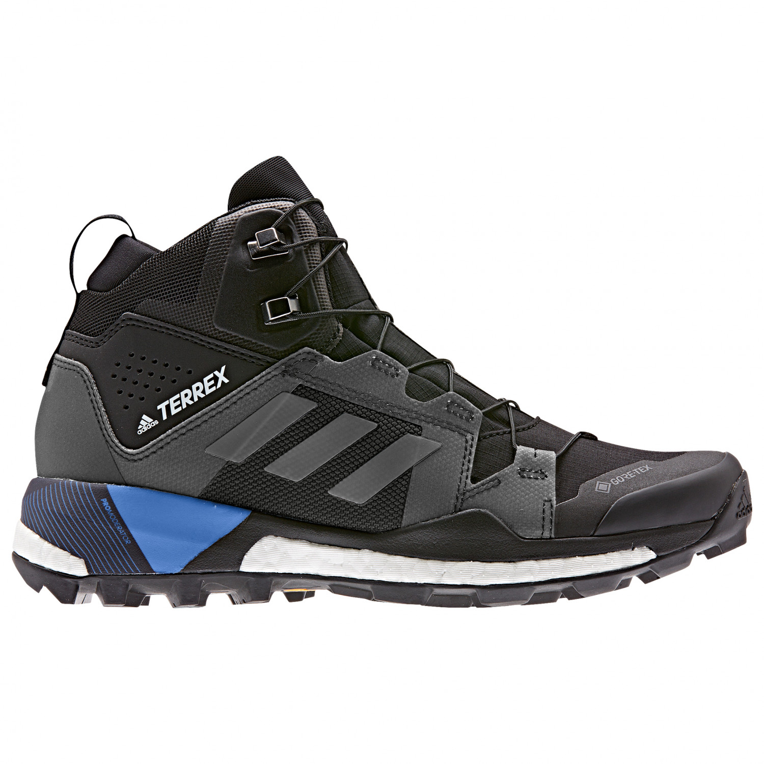 adidas - Women's Terrex Skychaser XT Mid GTX - Approachschuhe - Core Black  / Grey Four / Real Blue | 3,5 (UK)