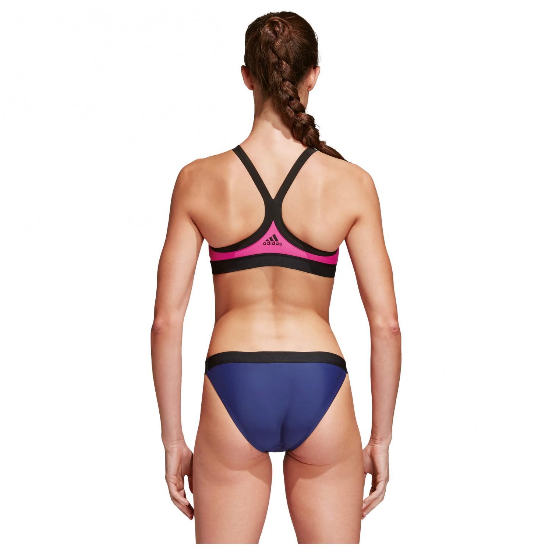 adidas beach bikini colorblock bikini damen online kaufen. Black Bedroom Furniture Sets. Home Design Ideas