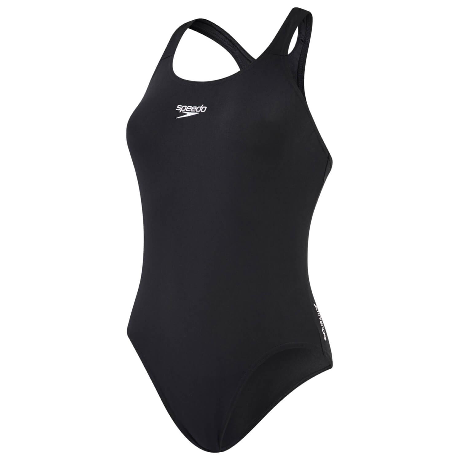 Speedo Women's Essential Endurance+ Medalist Swimsuit Navy | 34 (EU)