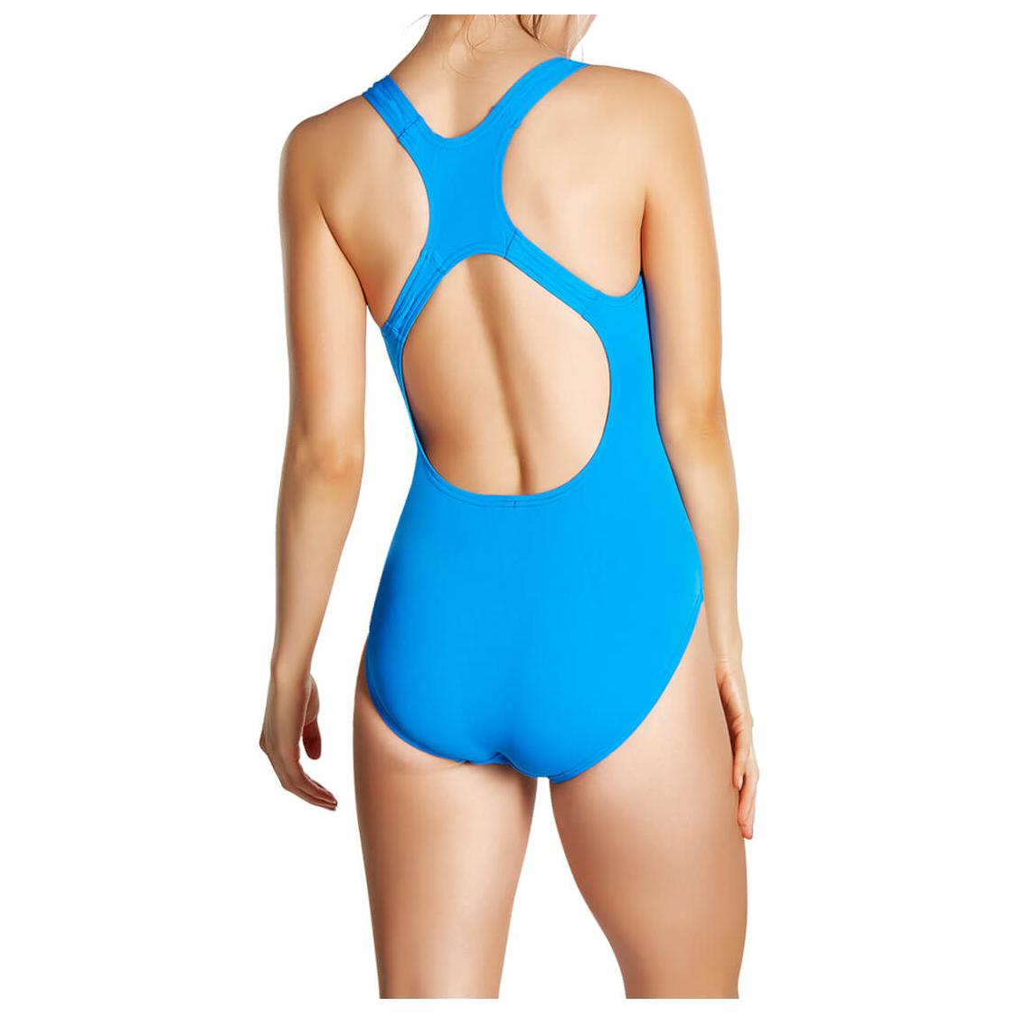 fab264f72010 Speedo - Women's Essential Endurance+ Medalist - Traje de baño - Blue | 30  (EU)