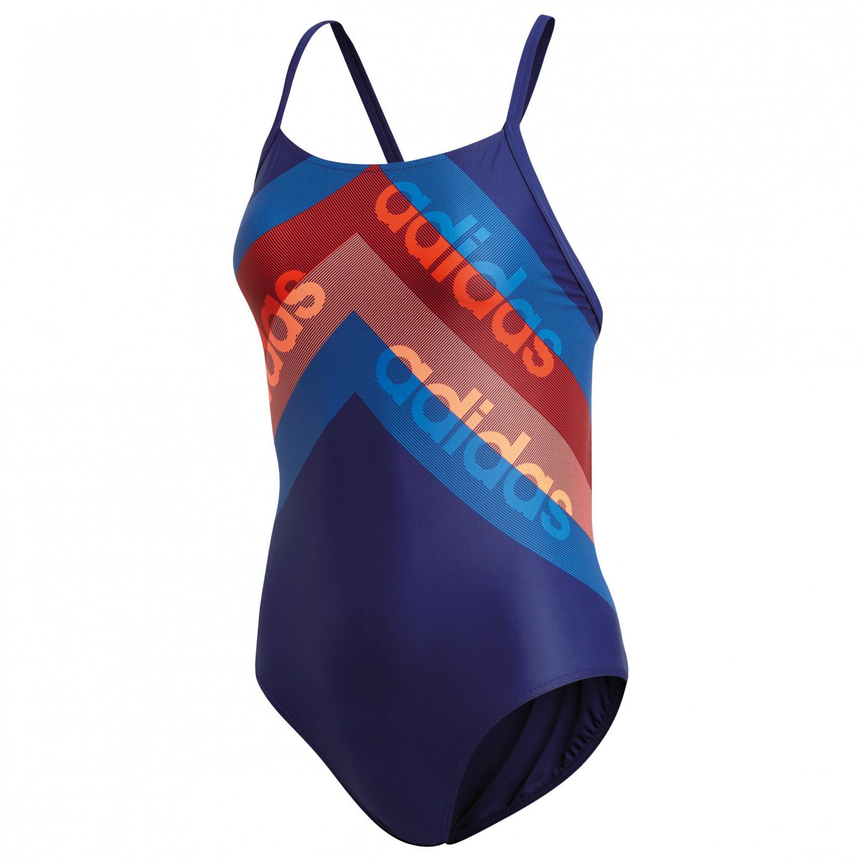 Super Rabatt farblich passend gehobene Qualität Adidas Fitness Training Suit Lineage - Badeanzug Damen ...