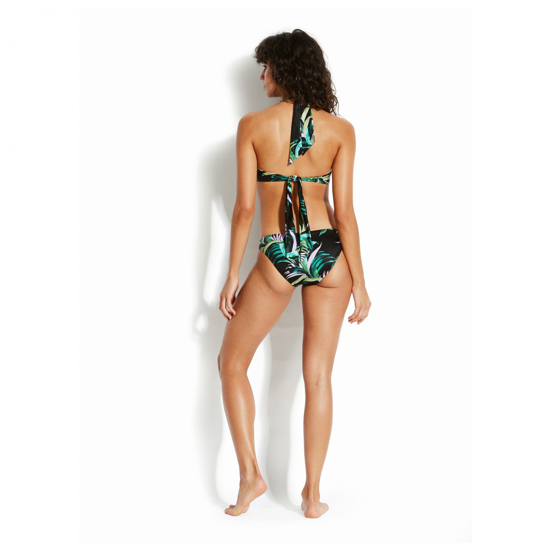 seafolly las palmas twist soft cup halter bikini top. Black Bedroom Furniture Sets. Home Design Ideas