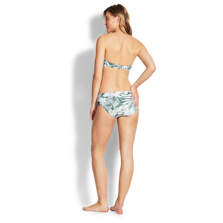 Seafolly Womens Dd U Tube Bandeau Bikini Top Swimsuit