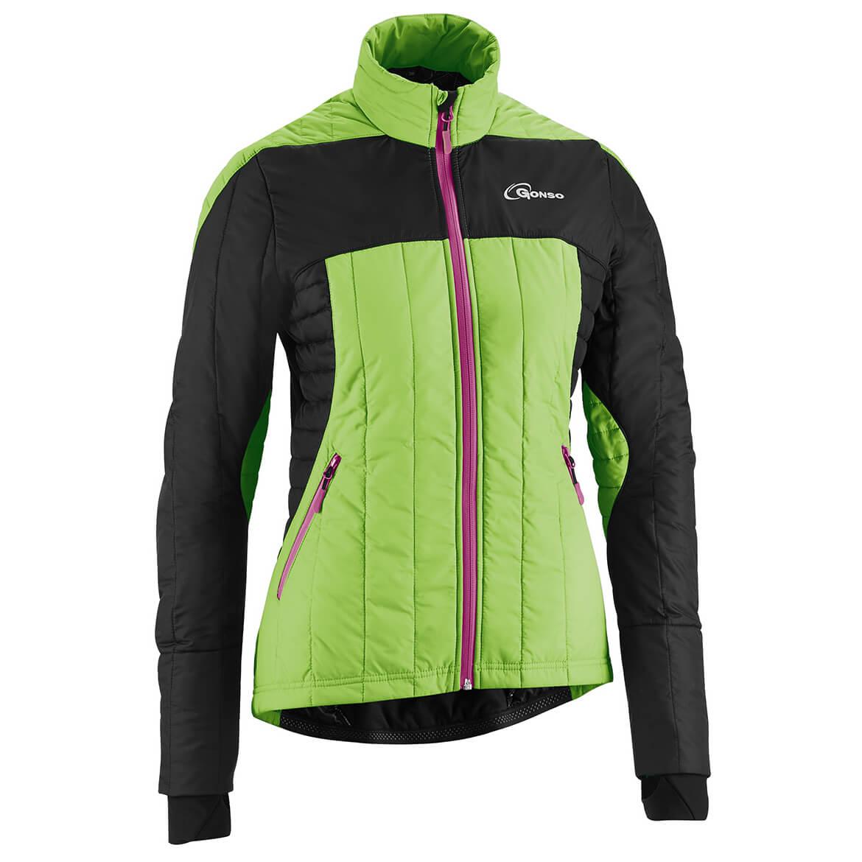 gonso gardner v3 damen thermo active jacke bike jacket. Black Bedroom Furniture Sets. Home Design Ideas