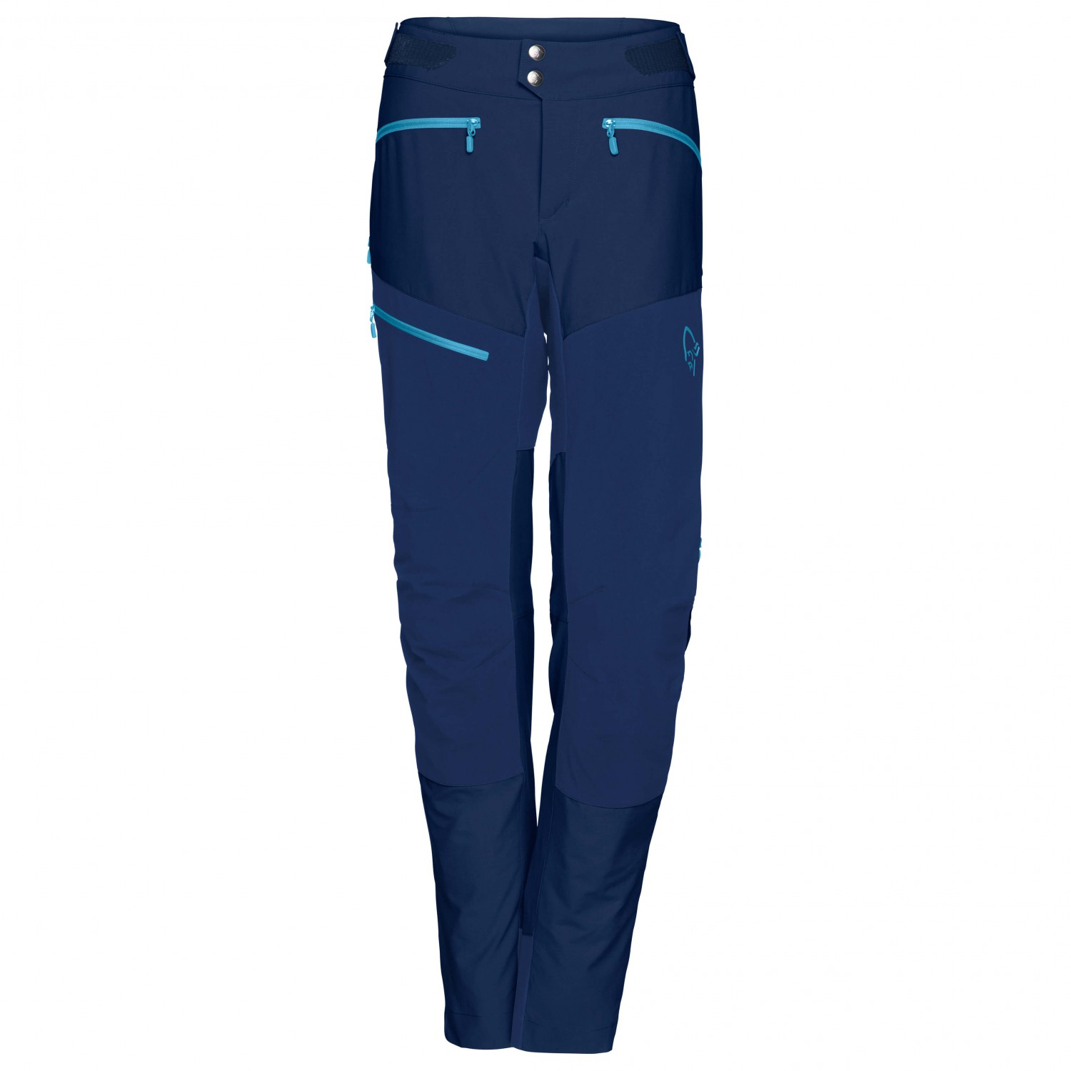 Norrøna Women's Fjørå Flex1 Pants Cycling bottoms Indigo Night | XS