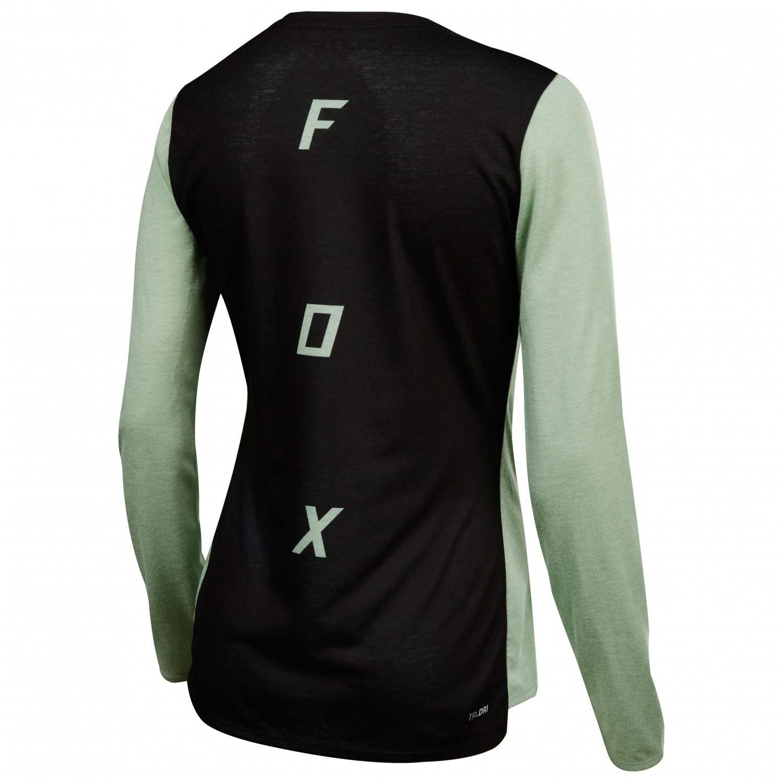 3b57c0a05 FOX Racing Fox Head - Indicator L S Asym Jersey - Cycling Jersey ...