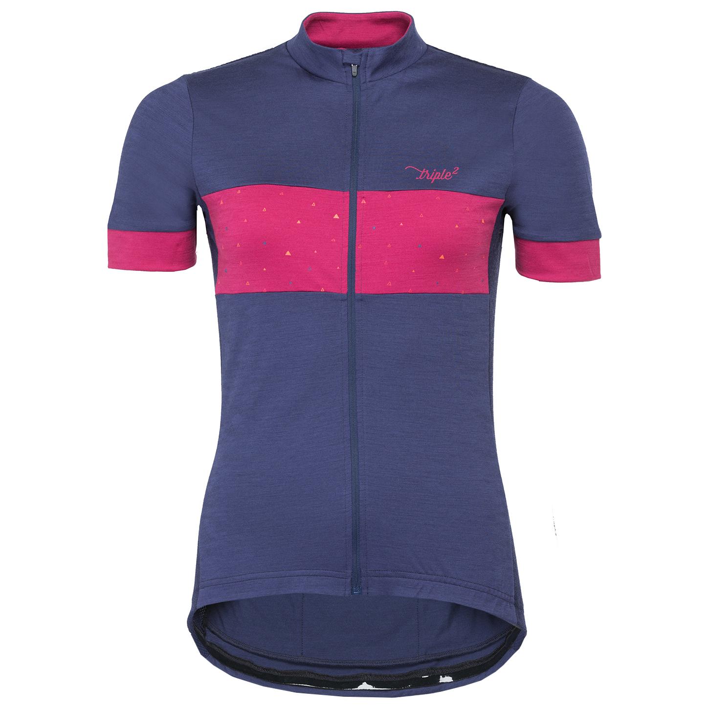 Triple2 - Velozip Merino Jersey Women - Cycling jersey ... 7aa1c7437