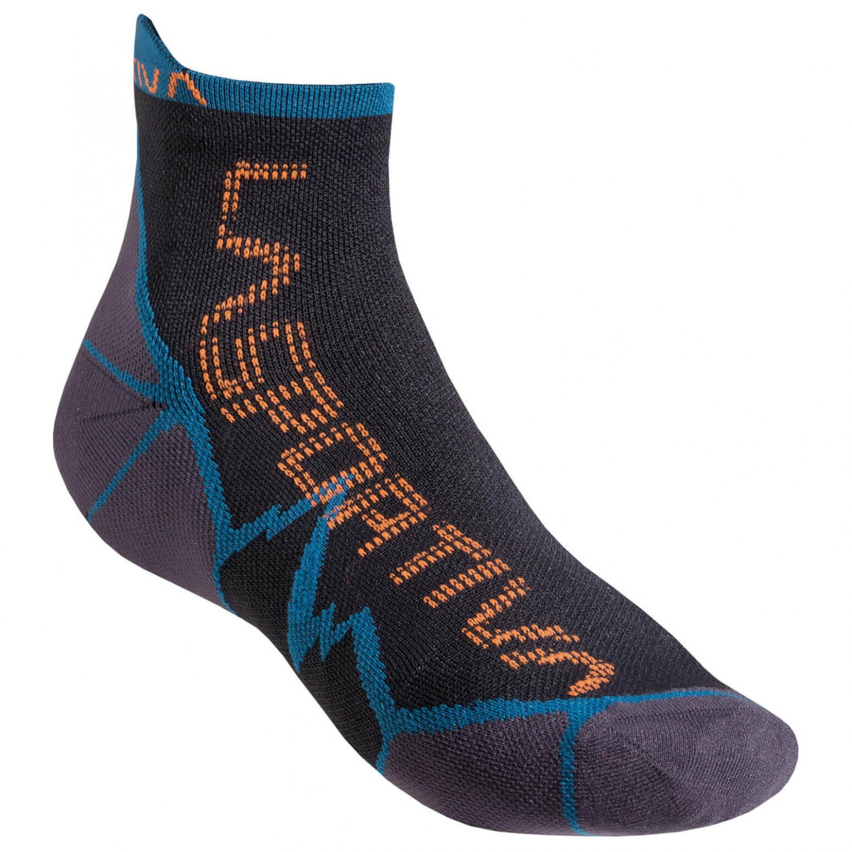 La Sportiva - Long Distance Socks - Socken Ocean / Flame