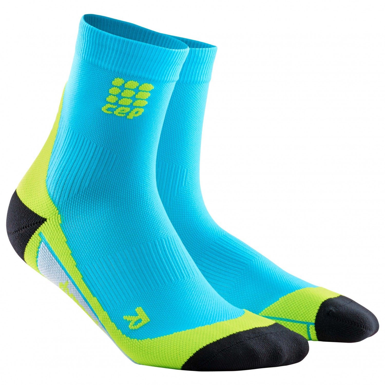 CEP - Short Socks - Kompressionssocken Hawaii Blue / Green