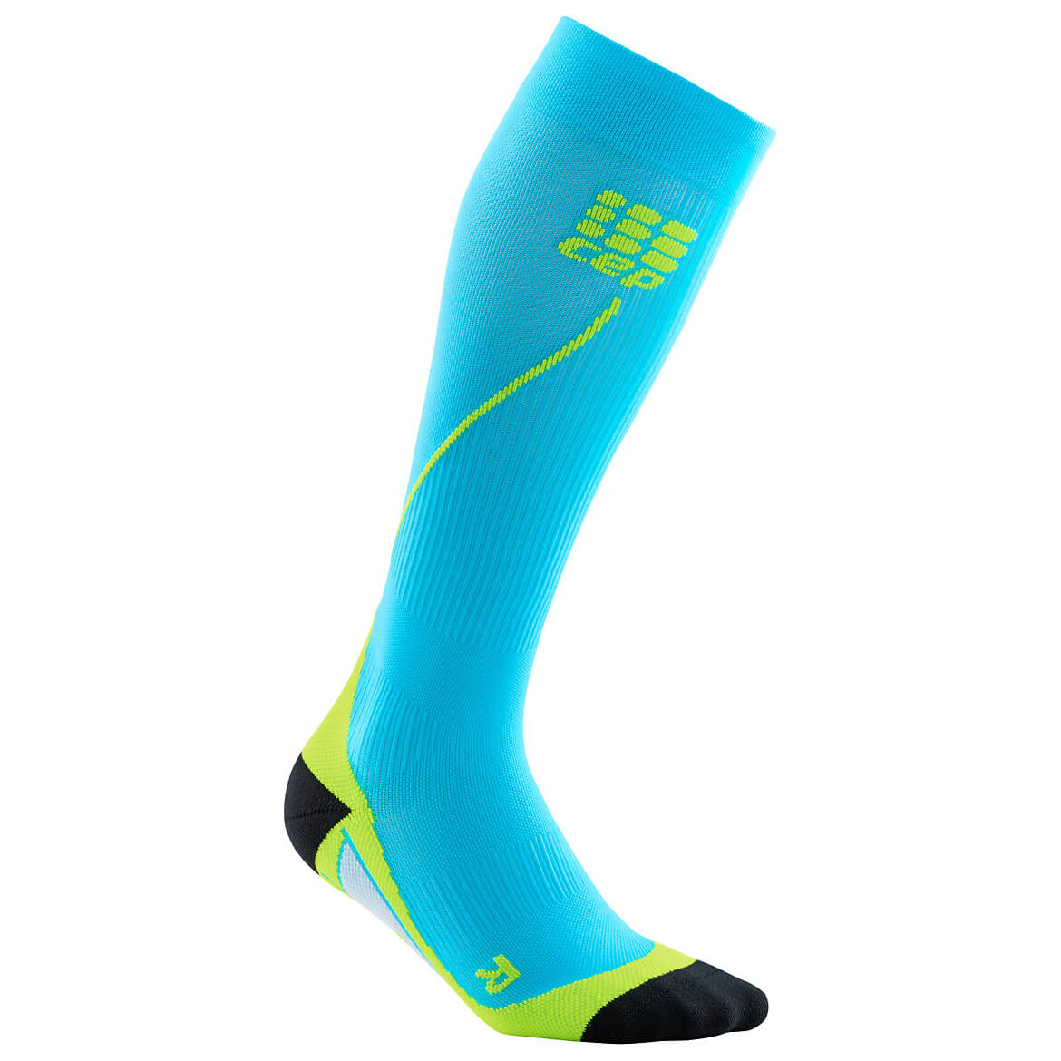 CEP - Run Socks 20 - Kompressionssocken Hawaii Blue / Green