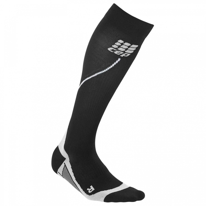 CEP - Women's Run Socks 20 - Kompressionssocken Black / Grey