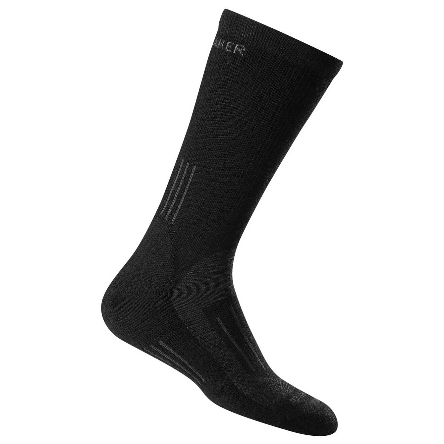 Icebreaker - Women's Hike Medium Crew - Trekkingsocken Black