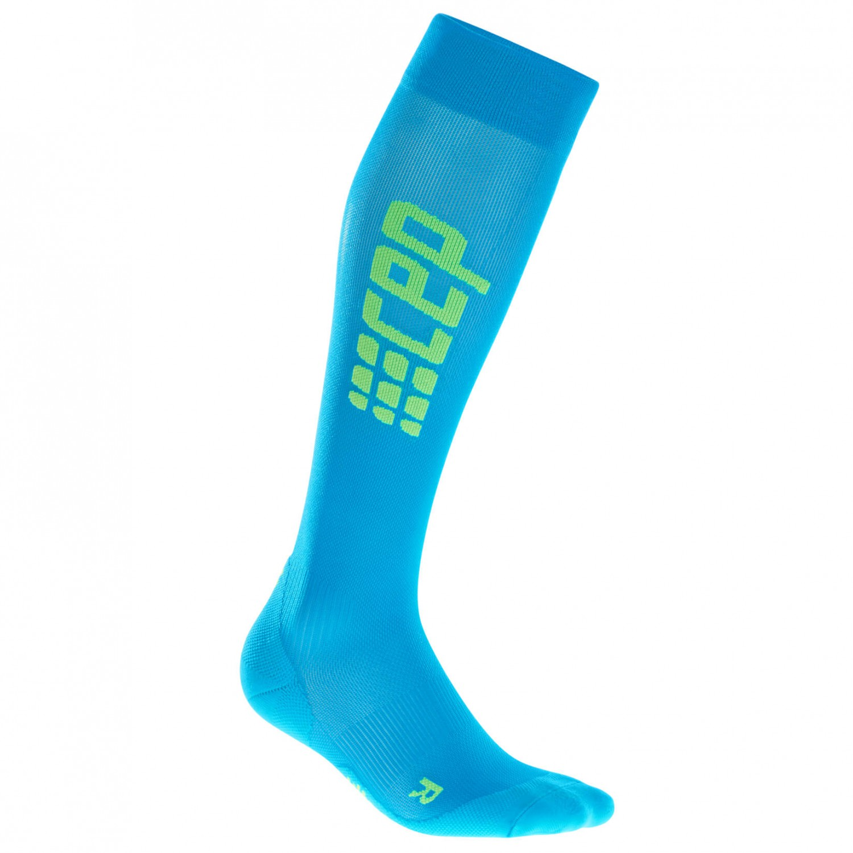 CEP - Women's Run Ultralight Socks - Kompressionssocken Electric Blue / Green