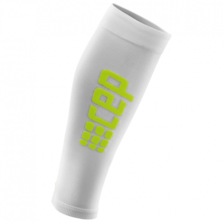 CEP - Ultralight Calf Sleeves - Kompressionssocken White / Green