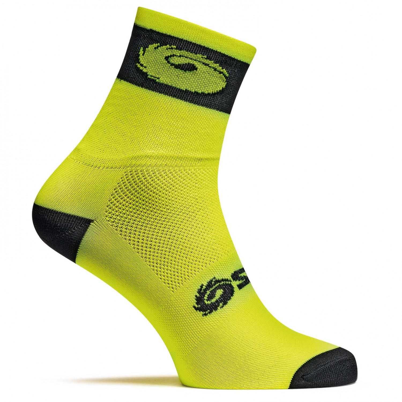 Sidi - Logo Socks - Radsocken Yellow / Black