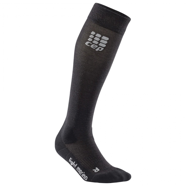 CEP - CEP Pro+ Outdoor Light Merino Socks Lava Stone