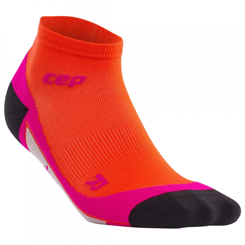 CEP - Women's CEP Dynamic+ Low Cut Socks - Laufsocken Sunset / Pink