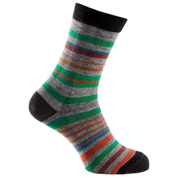 Urberg - Striped Wool - Multifunktionssocken Grey / Multi