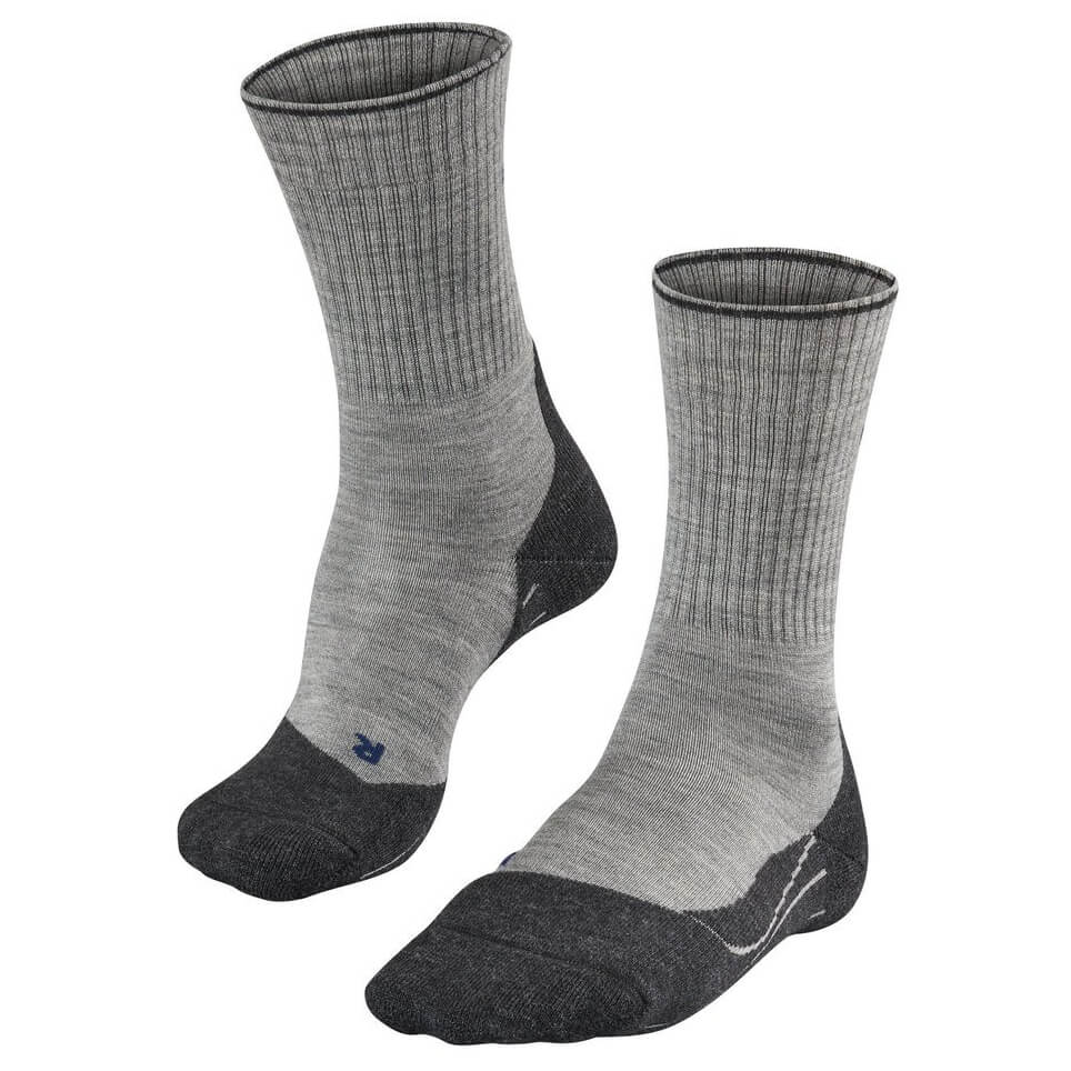 Falke - TK2 Wool Silk - Trekkingsocken Light Grey
