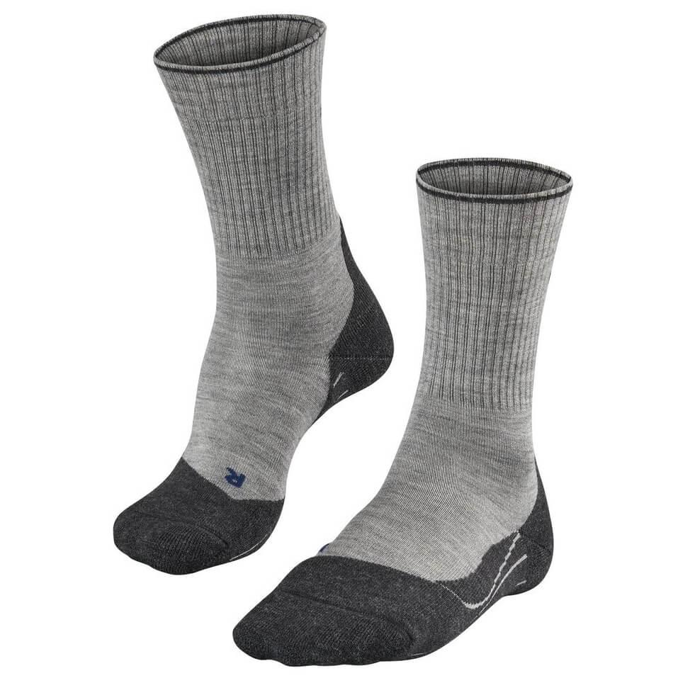 Temperament Schuhe günstige Preise bester Lieferant Falke - TK2 Wool Silk - Wandersocken - Light Grey   39-41 (EU)