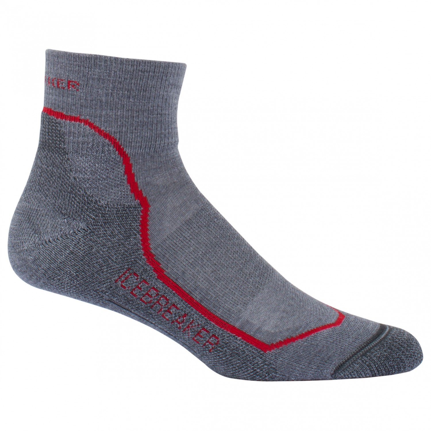 Icebreaker Stealth Rocket Heather Twister Wandersocken