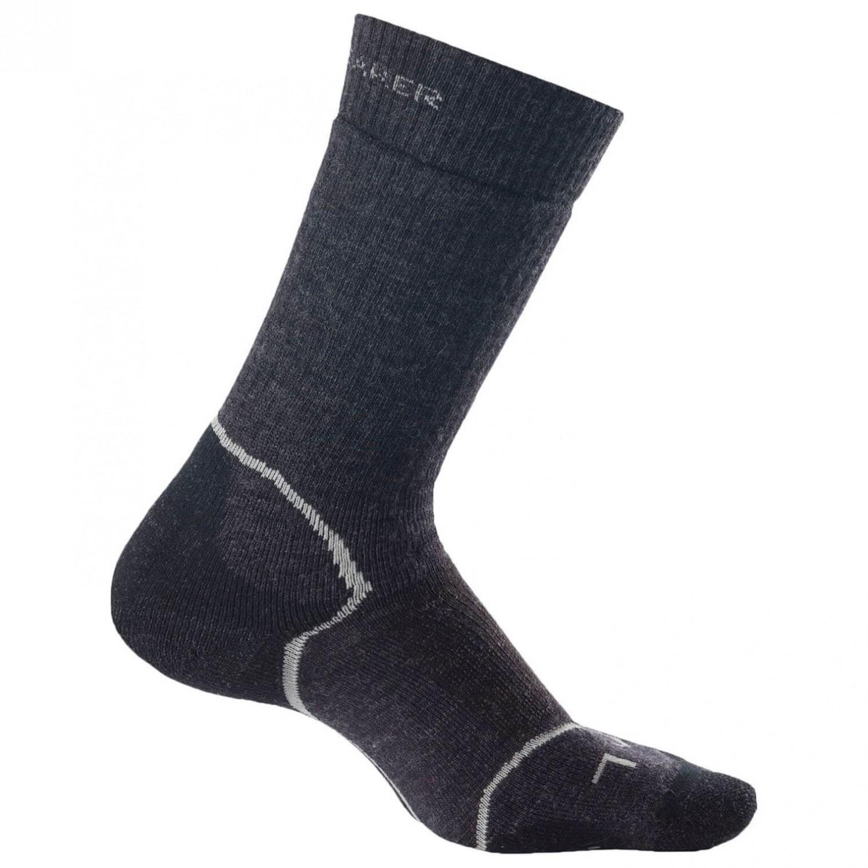Icebreaker - Women's Hike+ Medium Crew - Socken Jet / Silver / Black