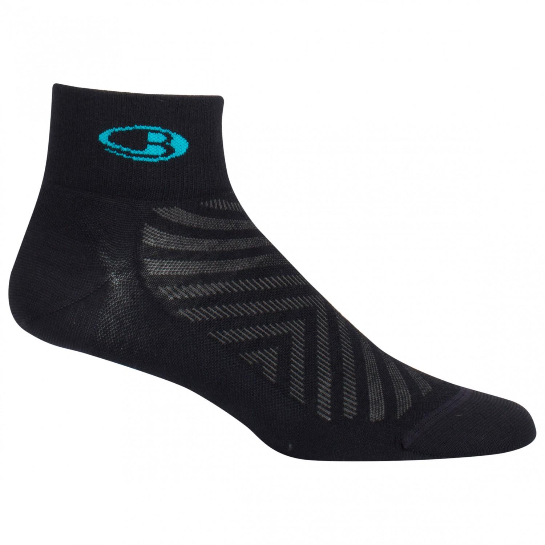 Ultralight Mini Women Socken Sport Laufen Outdoor black lagoon Icebreaker Run