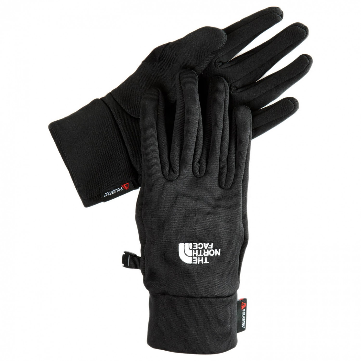 North face stretch gloves