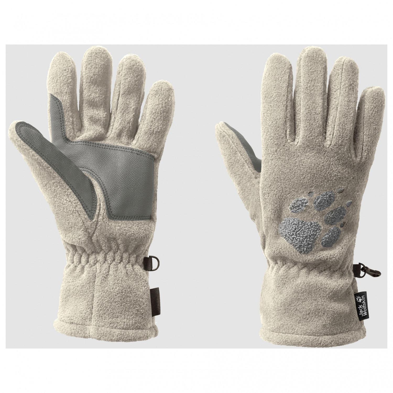 Sonderangebot Original- viele möglichkeiten Jack Wolfskin - Paw Gloves - Handschuhe - Dusty Grey | S