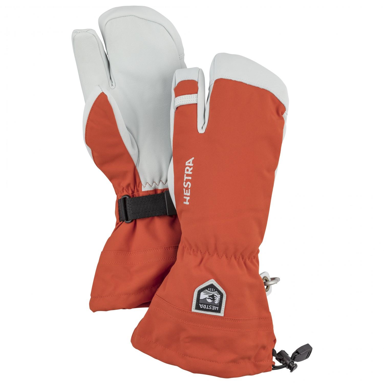 Hestra Army Leather Heli Ski 3 Finger Gloves Free Eu Delivery