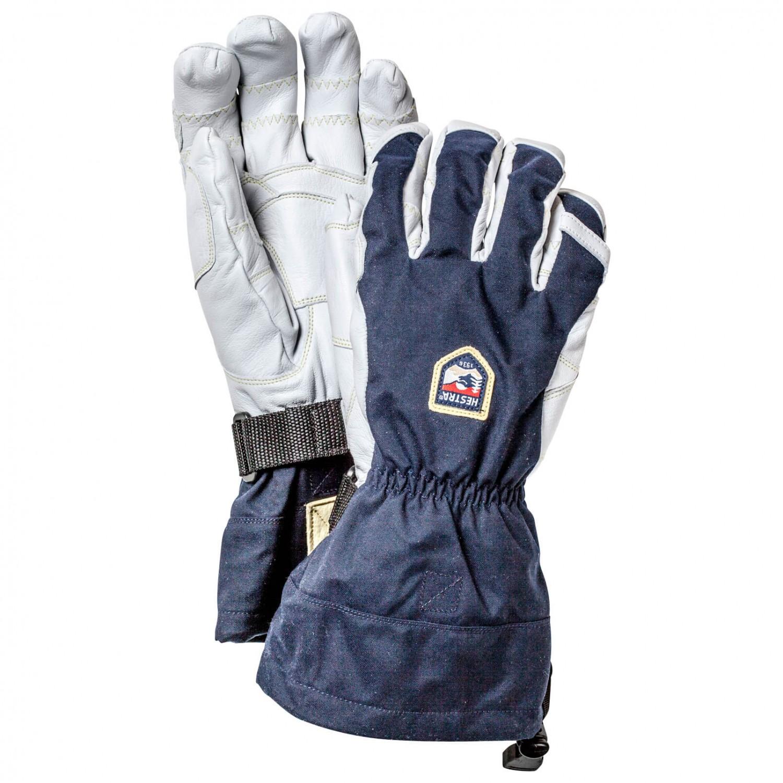 hestra army leather heli ski ergo grip 5 finger versandkostenfrei. Black Bedroom Furniture Sets. Home Design Ideas