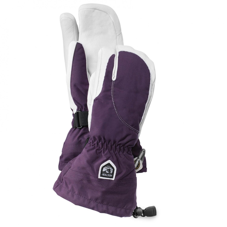 hestra heli ski 3 finger handschuhe damen versandkostenfrei. Black Bedroom Furniture Sets. Home Design Ideas