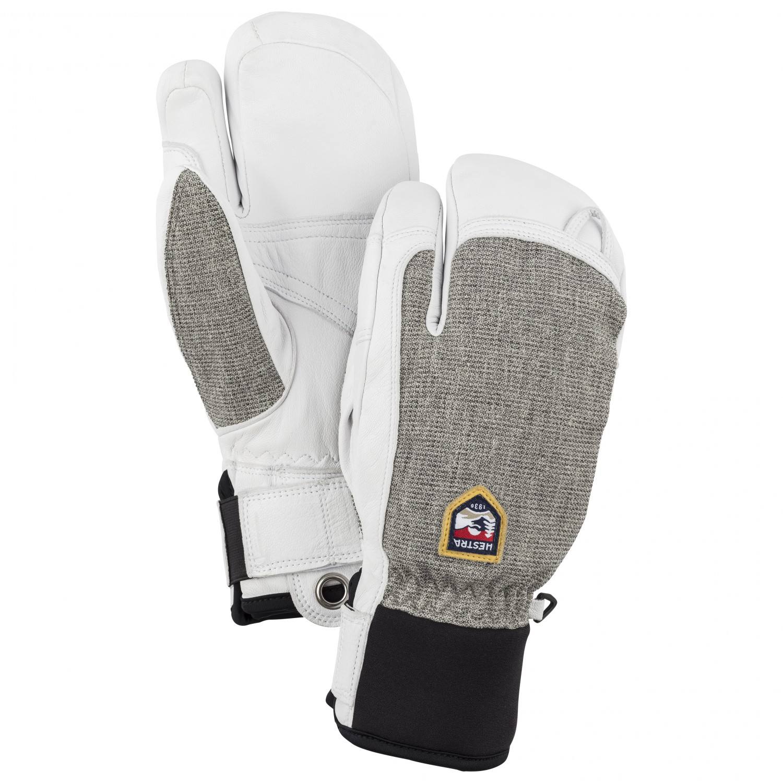 Hestra Army Leather Heli Ski 3-Finger Mittens