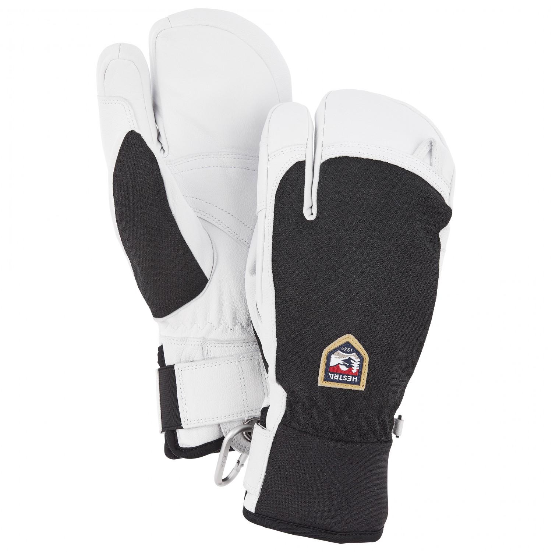 Hestra Army Leather Heli Ski 3 Finger Gloves